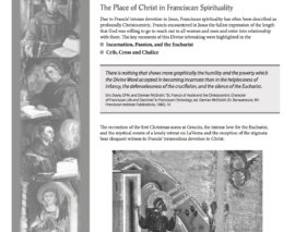 Franciscan Spirituality and Christology