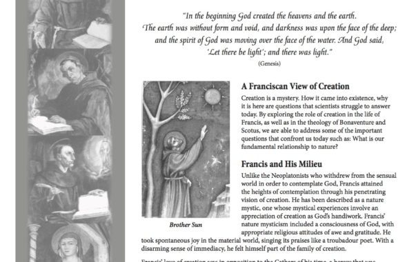 A Franciscan View of Creation: Learning to Live in a Sacramental World