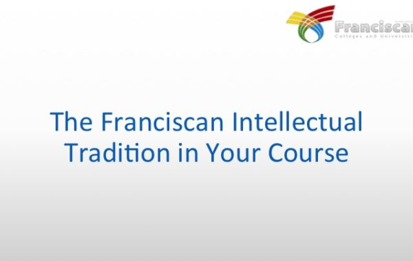 Franciscan values and beliefs